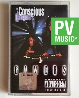 THE CONSCIOUS DAUGHTERS GAMERS audio cassette