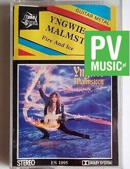 YNGWIE MALMSTEEN FIRE AND ICE audio cassette