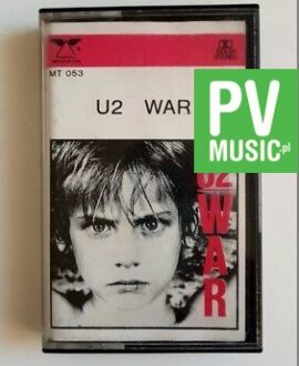 U2 WAR audio cassette