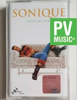 SONIQUE HEAR MY CRY audio cassette
