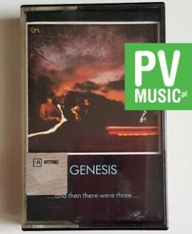 GENESIS ...AND THEN THERE WERE THREE audio cassette