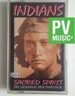 INDIANS   SACRED SPIRIT      audio cassette