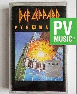 DEF LEPPARD PYROMANIA audio cassette