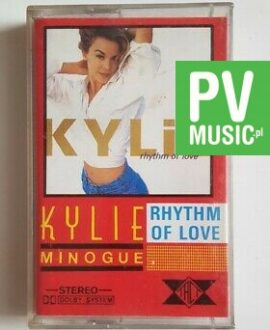 KYLIE MINOGUE RHYTHM OF LOVE audio cassette