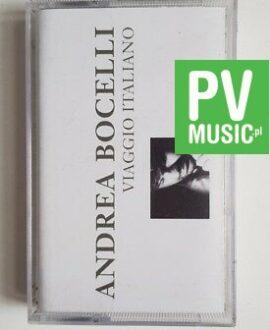 ANDREA BOCELLI VIAGGIO ITALIANO audio cassette