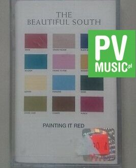 THE BEAUTIFUL SOUTH PAINTING IT RED  NEW IN FOIL    audio cassette