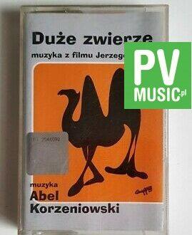 DUŻE ZWIERZĘ JERZY STUHR SOUNDTRACK audio cassette