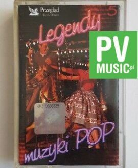 LEGENDY MUZYKI POP READER'S DIGEST.vol.5  audio cassette
