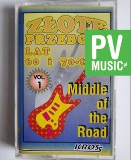 MIDDLE OF THE ROAD GOLDEN HITS audio cassette
