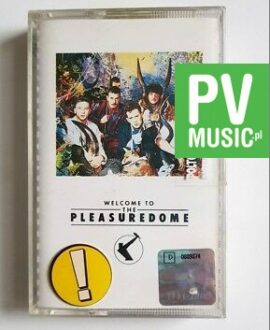 FRANKIE GOES TO HOLLYWOOD WELCOME TO THE PLEASUREDOME audio cassette