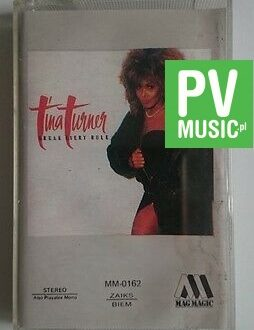 TINA TURNER BREAK EVERY RULE   audio cassette