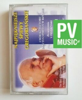 THE BEST OF GREGORIAN CHANT IN HONOUR OF JOHN PAUL II audio cassette