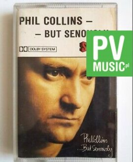 PHIL COLLINS BUT SERIOUSLY audio cassette