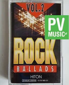 ROCK BALLADS vol.2 BRIAN MAY, U2  audio cassette