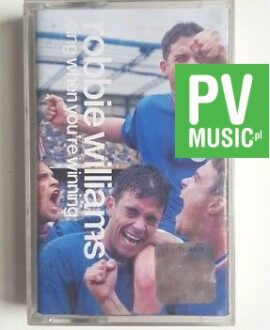 ROBBIE WILLIAMS SING WHEN YOU'RE WINNING audio cassette