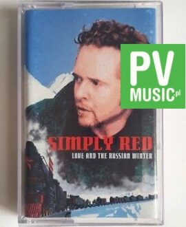 SIMPLY RED LOVE AND THE RUSSIAN WINTER audio cassette