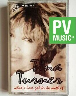 TINA TURNER WHAT'S LOVE GOT TO DO WITH IT audio cassette