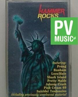 HAMMER ROCKS  THIRD FROM THE SUN,THE CHAIN...   audio cassette