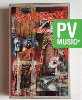 GOREFEST FALSE audio cassette