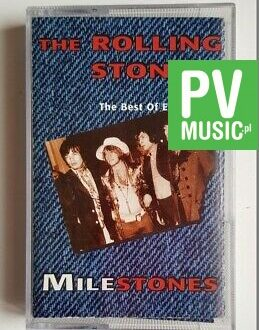 THE ROLLING STONES THE BEST OF EARLY DAYS, MILESTONES audio cassette