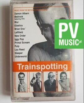 TRAINSPOTTING SOUNDTRACK audio cassette