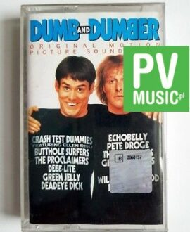 DUMB AND DUMBER SOUNDTRACK audio cassette