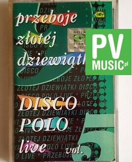 DISCO POLO LIVE 5 MAXEL, AKCENT.. audio cassette