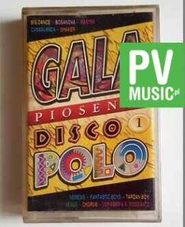 GALA DISCO POLO 1 BOSANOVA, MASTER.. audio cassette
