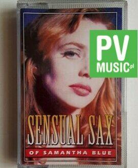 SAMANTHA BLUE SENSUAL SAX audio cassette