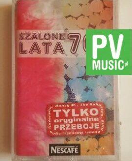 SZALONE LATA 70-te NESCAFE audio cassette