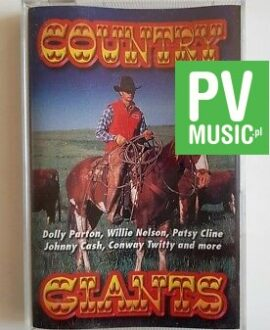 COUNTRY GIANTS D. PARTON, J.CASH.. audio cassette