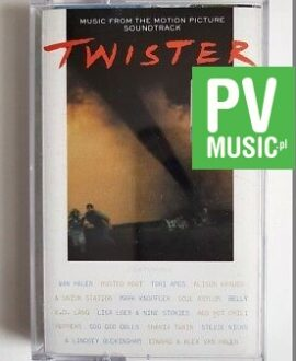 TWISTER SOUNDTRACK audio cassette