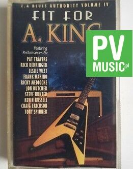 FIT FOR A.KING BLUES AUTHORITY audio cassette