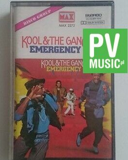 KOOL&THE GANG EMERGENCY  85'  audio cassette