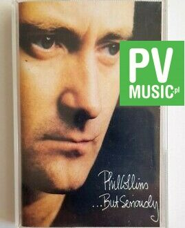 PHIL COLLINS - BUT SERIOUSLY audio cassette