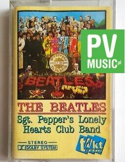 THE BEATLES SGT. PEPPER'S LONELY HEARTS CLUB BAND audio cassette