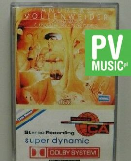 ANDREAS VOLLENWEIDER  CAVERNA MAGICA   audio cassette
