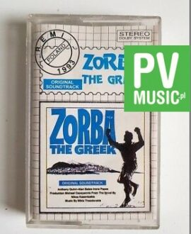 ZORBA THE GREEK SOUNDTRACK  audio cassette