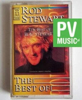ROD STEWART THE BEST OF audio cassette