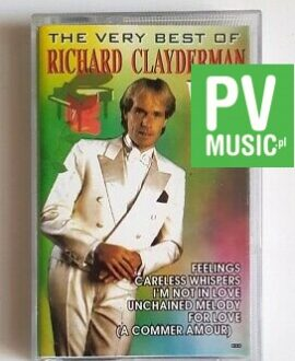 RICHARD CLAYDERMAN THE VERY BEST OF vol.2 audio cassette