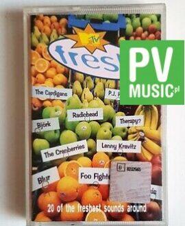 MTV FRESH RADIOHEAD, OASIS, BLUR.. audio cassette