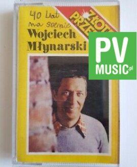WOJCIECH MŁYNARSKI ZŁOTE PRZEBOJE audio cassette