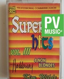 SUPER HITS 93' vol.III audio cassette
