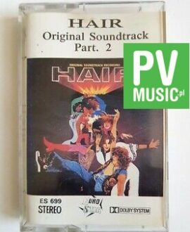 HAIR ORIGINAL SOUNDTRACK part.2 audio cassette