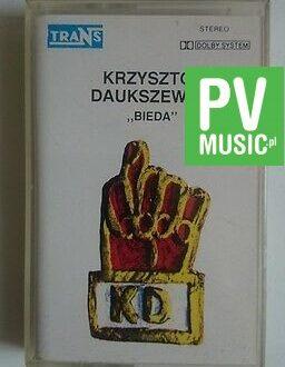 KRZYSZTOF DAUKSZEWICZ BIEDA    audio cassette