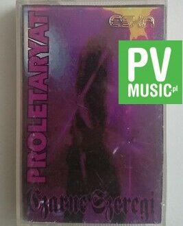 PLORETARYAT  CZARNE SZEREGI     audio cassette