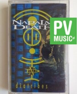 NAPALM DEATH DIATRIBES audio cassette