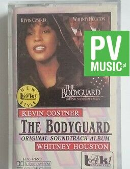 THE BODYGUARD  SOUNDTRACK  audio cassette