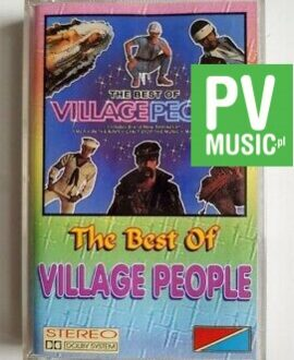 VILLAGE PEOPLE THE BEST OF audio cassette