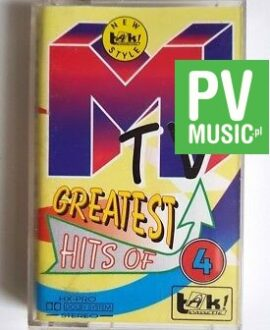 MTV 4 GREATEST HITS OF - Prince.. audio cassette